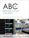 ABC of Intensive Care (eBook)