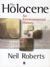 The Holocene (eBook): An Environmental History