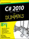 C# 2010 All-in-One For Dummies (eBook)