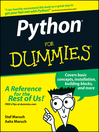 Python For Dummies (eBook)
