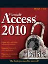 Access 2010 Bible (eBook)