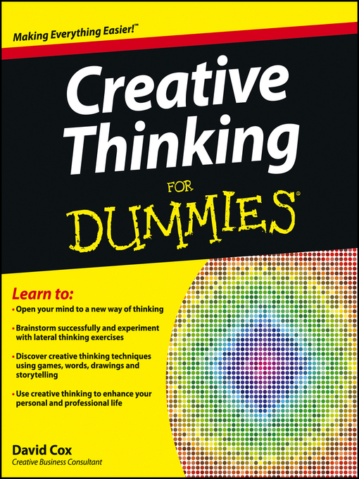 Creative Thinking For Dummies (eBook)