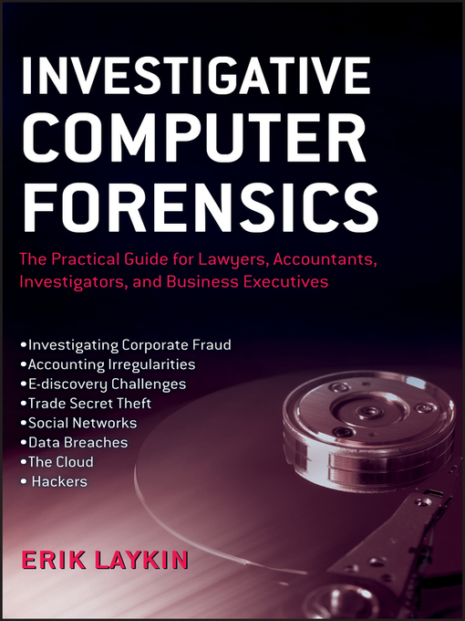 Investigative Computer Forensics (eBook): The Practical Guide for Lawyers, Accountants, Investigators, and Business Executives