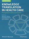 Knowledge Translation in Health Care (eBook): Moving from Evidence to Practice
