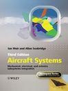 Aircraft Systems (eBook): Mechanical, Electrical and Avionics Subsystems Integration