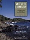 Aquatic Chemistry (eBook): Chemical Equilibria and Rates in Natural Waters