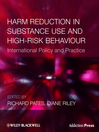 Harm Reduction in Substance Use and High-Risk Behaviour (eBook)