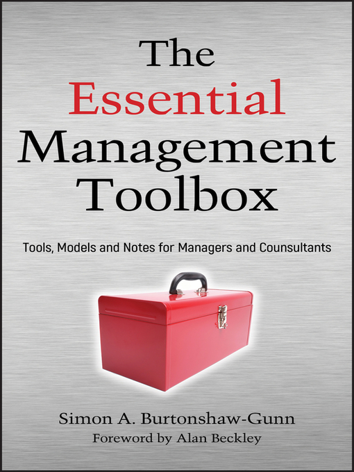 The Essential Management Toolbox (eBook): Tools, Models and Notes for Managers and Consultants