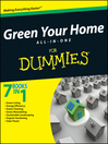 Green Your Home All in One For Dummies (eBook)