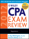 Wiley CPA Exam Review 2012, Regulation (eBook)