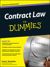 Contract Law For Dummies (eBook)