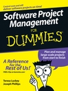 Software Project Management For Dummies (eBook)
