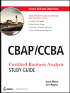 CBAP / CCBA Certified Business Analysis Study Guide (eBook)