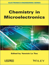 Chemistry in Microelectronics (eBook)
