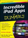 Incredible iPad Apps For Dummies (eBook)