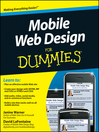 Mobile Web Design For Dummies (eBook)