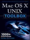 MAC OS X UNIX Toolbox (eBook): 1000+ Commands for the Mac OS X