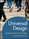 Universal Design (eBook): Creating Inclusive Environments