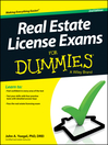 Real Estate License Exams For Dummies (eBook)