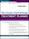 The Couples Psychotherapy Treatment Planner (eBook)
