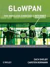 6LoWPAN (eBook): The Wireless Embedded Internet