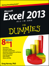 Excel 2013 All-in-One For Dummies (eBook)