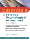 Essentials of Forensic Psychological Assessment (eBook)