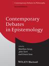 Contemporary Debates in Epistemology (eBook)