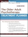 The Older Adult Psychotherapy Treatment Planner, with DSM-5 Updates (eBook)
