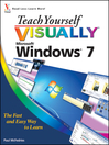 Teach Yourself VISUALLY Windows 7 (eBook)