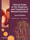 Clinical Guide to the Diagnosis and Treatment of  Mental Disorders  2 by Michael B. First eBook