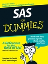 SAS For Dummies (eBook)