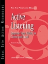 Active Listening (eBook): Improve Your Ability to Listen and Lead