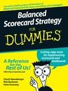 Balanced Scorecard Strategy For Dummies (eBook)