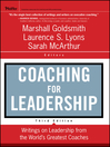 Coaching for Leadership (eBook): Writings on Leadership from the World's Greatest Coaches
