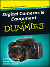 Digital Cameras and Equipment For Dummies<sup>&#174;</sup> (eBook)