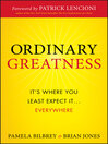 Ordinary Greatness (eBook): It's Where You Least Expect It ... Everywhere