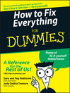 How to Fix Everything For Dummies (eBook)