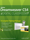 Dreamweaver CS4 Digital Classroom (eBook)