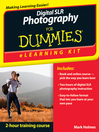 Digital SLR Photography eLearning Kit For Dummies (eBook)