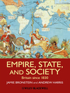 Empire, State, and Society (eBook): Britain since 1830
