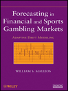 Forecasting in Financial and Sports Gambling Markets (eBook): Adaptive Drift Modeling