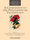 A Companion to the Philosophy of Technology (eBook)