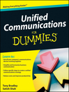 Unified Communications For Dummies (eBook)