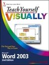 Teach Yourself VISUALLY Microsoft Word 2003 (eBook)