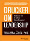 Drucker on Leadership (eBook): New Lessons from the Father of Modern Management