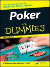 Poker For Dummies<sup>®</sup> (eBook)