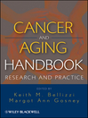Cancer and Aging Handbook (eBook): Research and Practice