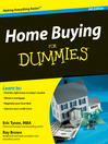 Cover image of Home Buying For Dummies®