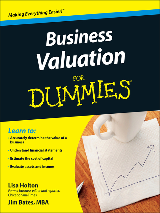 Business Valuation For Dummies® (eBook)